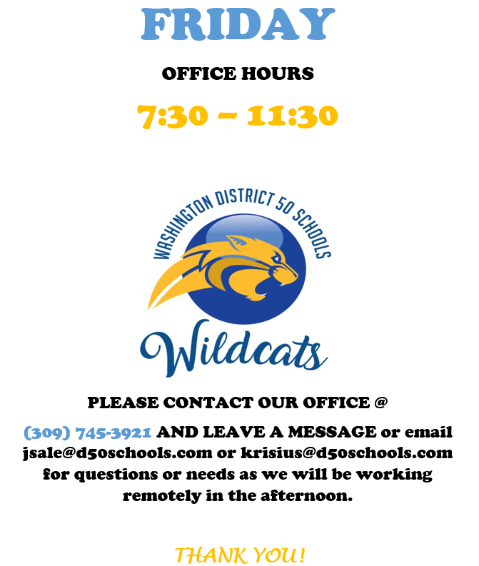 Friday Hours
