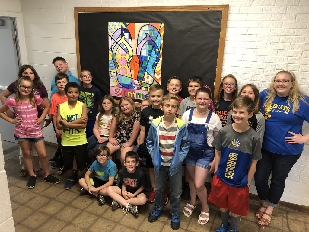 Miss Jewell's class Summer Fun Math project