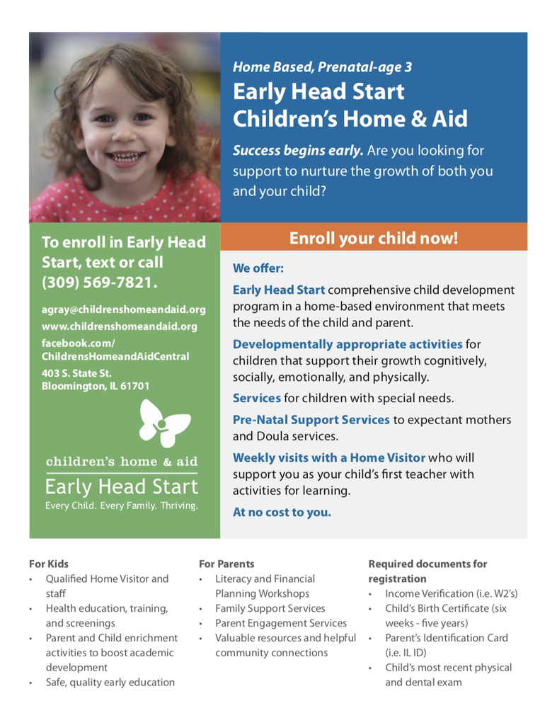 Children's Home Flyer