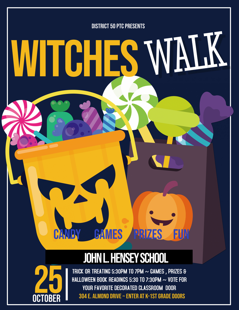 Witches Walk Flyer