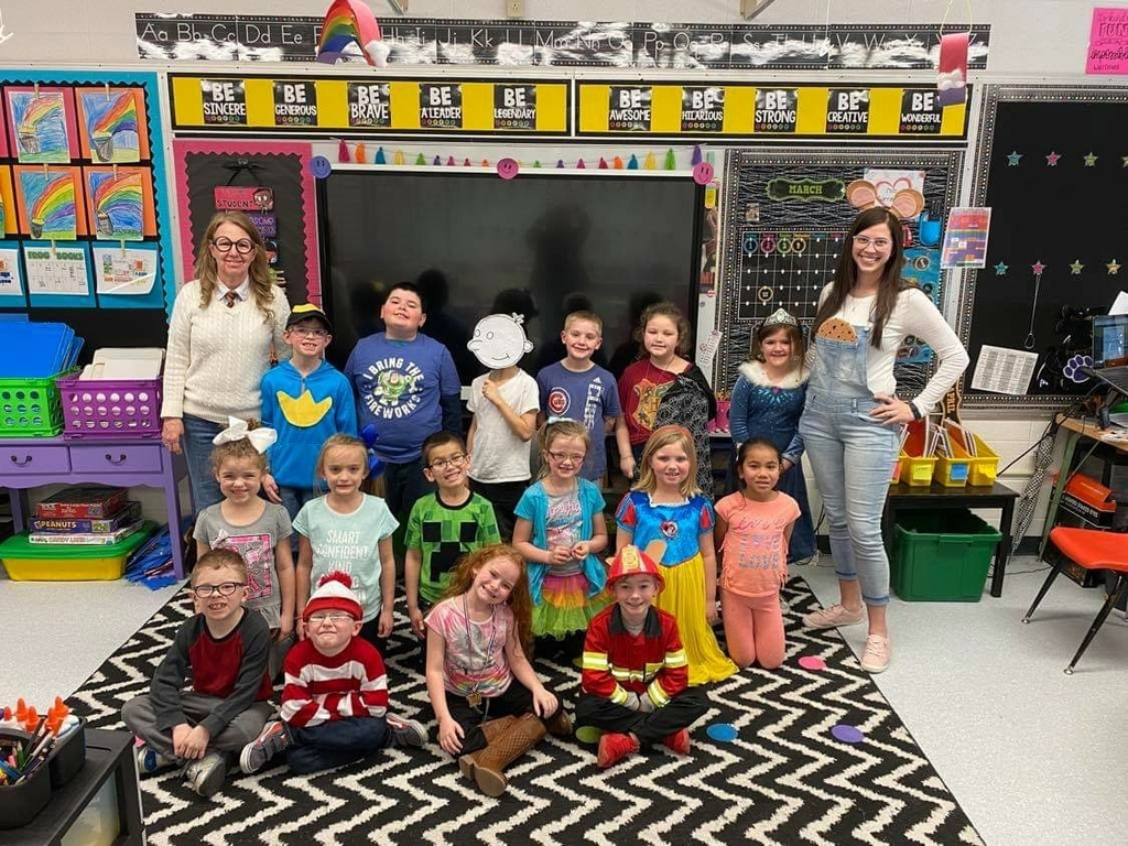 Miss Carrabotta's class loved Guess Who Day! They had so much fun guessing which book characters everyone was dressed as!
